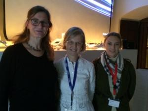 Dr. Meyer-Lewis, Prof. Bals-Pratsch, Britta Haseneder